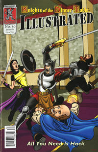 Cover Thumbnail for Knights of the Dinner Table Illustrated (Kenzer and Company, 2000 series) #30