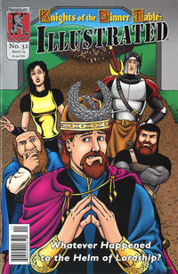 Cover Thumbnail for Knights of the Dinner Table Illustrated (Kenzer and Company, 2000 series) #32