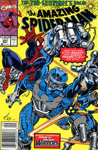 Cover Thumbnail for The Amazing Spider-Man (Marvel, 1963 series) #351 [Newsstand Edition]