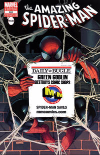 Cover Thumbnail for The Amazing Spider-Man (Marvel, 1999 series) #666 [M and M Exclusive Bugle Variant Cover]