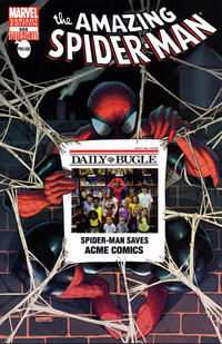 Cover Thumbnail for The Amazing Spider-Man (Marvel, 1999 series) #666 [Acme Comics Exclusive Bugle Variant Cover]
