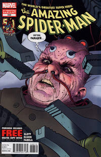 Cover Thumbnail for The Amazing Spider-Man (Marvel, 1999 series) #698 [2nd Printing Variant Cover]