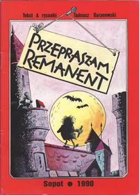 Cover Thumbnail for Przepraszam remanent (bea, 1990 series)