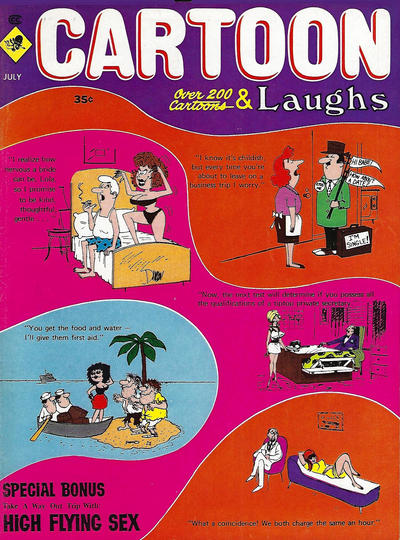Cover for Cartoon Laughs (Marvel, 1962 series) #v9#4