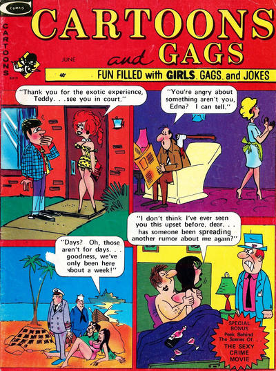 Cover for Cartoons and Gags (Marvel, 1959 series) #v21#4