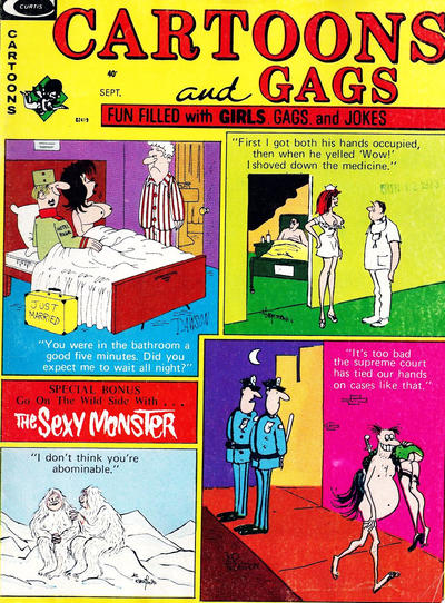 Cover for Cartoons and Gags (Marvel, 1959 series) #v20#6