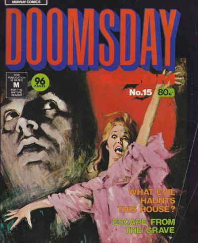 Cover for Doomsday (K. G. Murray, 1972 series) #15
