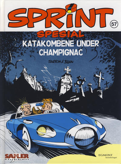 Cover for Sprint [Seriesamlerklubben] (Hjemmet / Egmont, 1998 series) #57 - Katakombene under Champignac
