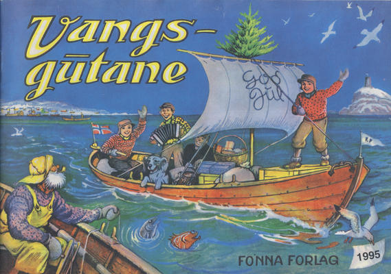 Cover for Vangsgutane (Fonna Forlag, 1941 series) #1995