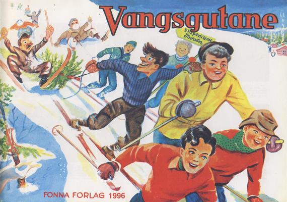 Cover for Vangsgutane (Fonna Forlag, 1941 series) #1996
