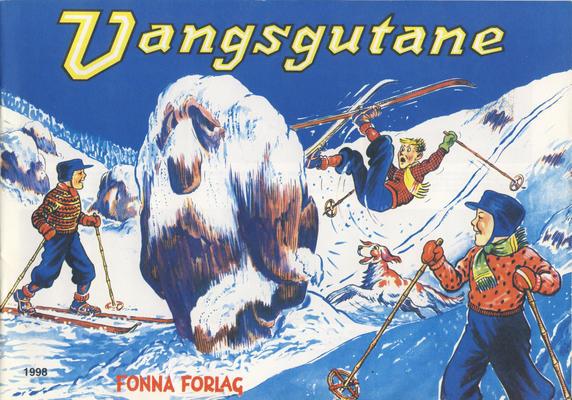 Cover for Vangsgutane (Fonna Forlag, 1941 series) #1998