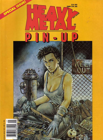 Cover for Heavy Metal Special Editions (Metal Mammoth, Inc., 1992 series) #v8#1 - Pin-Up