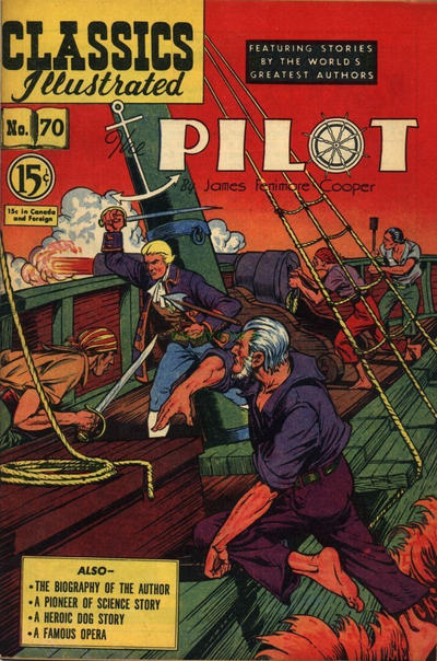 Cover for Classics Illustrated (Gilberton, 1948 series) #70