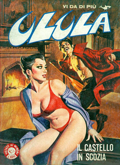 Cover for Ulula (Edifumetto, 1981 series) #8