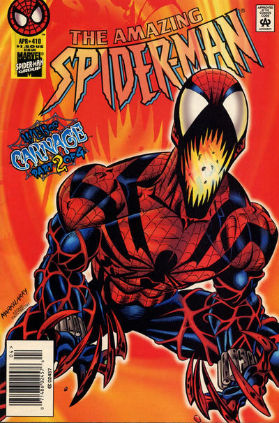 Cover for The Amazing Spider-Man (Marvel, 1963 series) #410 [Direct Edition]