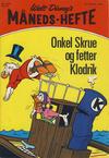 Cover for Walt Disney's månedshefte (Hjemmet / Egmont, 1967 series) #10/1970