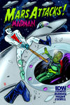 Cover Thumbnail for Mars Attacks the Real Ghostbusters (2013 series)  [Mars Attacks Madman variant]