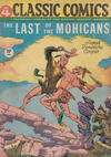 Cover for Classic Comics (Gilberton, 1941 series) #4 - The Last of the Mohicans [HRN 21]