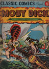 Cover for Classic Comics (Gilberton, 1941 series) #5 - Moby Dick [HRN 10]