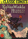Cover for Classic Comics (Gilberton, 1941 series) #12 - Rip Van Winkle and The Headless Horseman [HRN 15 - No Price]