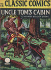 Cover for Classic Comics (Gilberton, 1941 series) #15 - Uncle Tom's Cabin [HRN 15]