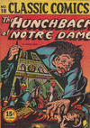 Cover for Classic Comics (Gilberton, 1941 series) #18 - The Hunchback of Notre Dame [HRN 22]