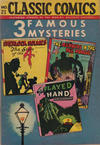 Cover Thumbnail for Classic Comics (1941 series) #21 - Three Famous Mysteries [HRN 30]