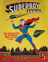 Cover for Superboy Annual (Atlas Publishing, 1953 series) #1953-54