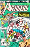 Cover Thumbnail for The Avengers (1963 series) #207 [British Variant]