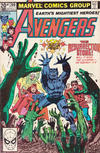 Cover Thumbnail for The Avengers (1963 series) #209 [British Variant]