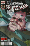 Cover for The Amazing Spider-Man (Marvel, 1999 series) #698 [Newsstand]