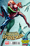 Cover Thumbnail for The Amazing Spider-Man (1999 series) #700 [Variant Edition - Midtown Comics Exclusive - J. Scott Campbell Cover]