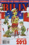 Cover for Billy (Hjemmet / Egmont, 1998 series) #26/2012