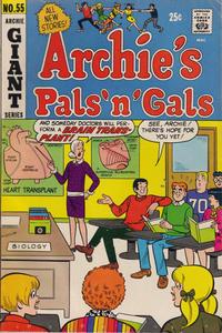 Cover Thumbnail for Archie's Pals 'n' Gals (Archie, 1952 series) #55