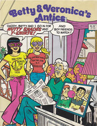 Cover Thumbnail for Betty and Veronica's Antics (Yaffa / Page, 1990 series)
