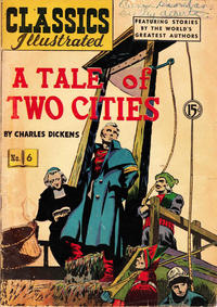 Cover Thumbnail for Classics Illustrated (Gilberton, 1948 series) #6