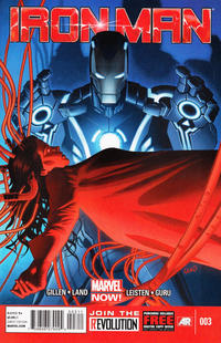 Cover Thumbnail for Iron Man (Marvel, 2013 series) #3
