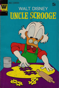 Cover Thumbnail for Uncle Scrooge (Western, 1963 series) #100 [Whitman]