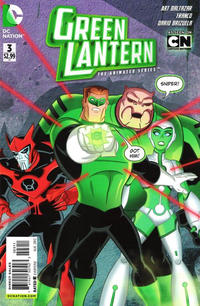 Cover Thumbnail for Green Lantern: The Animated Series (DC, 2012 series) #3