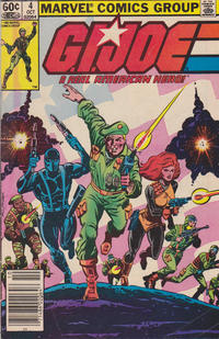 Cover Thumbnail for G.I. Joe, A Real American Hero (Marvel, 1982 series) #4 [Newsstand Edition]