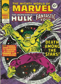 Cover Thumbnail for The Mighty World of Marvel (Marvel UK, 1972 series) #321