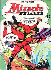 Cover Thumbnail for Miracle Man (Thorpe & Porter, 1965 series) #1