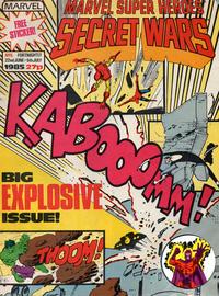 Cover Thumbnail for Marvel Super Heroes Secret Wars (Marvel UK, 1985 series) #5