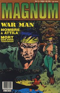 Cover for Magnum (Bladkompaniet / Schibsted, 1988 series) #3/1994