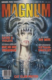 Cover Thumbnail for Magnum (Bladkompaniet / Schibsted, 1988 series) #7/1994