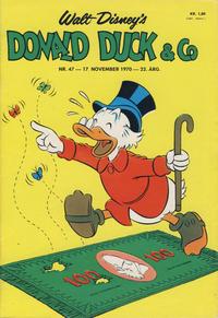 Cover Thumbnail for Donald Duck & Co (Hjemmet / Egmont, 1948 series) #47/1970