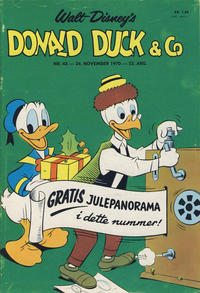 Cover Thumbnail for Donald Duck & Co (Hjemmet / Egmont, 1948 series) #48/1970