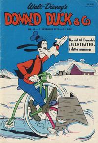 Cover Thumbnail for Donald Duck & Co (Hjemmet / Egmont, 1948 series) #49/1970