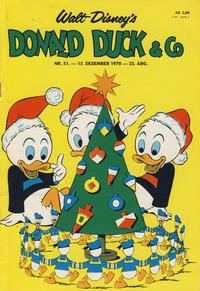 Cover Thumbnail for Donald Duck & Co (Hjemmet / Egmont, 1948 series) #51/1970