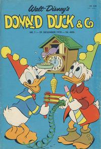 Cover Thumbnail for Donald Duck & Co (Hjemmet / Egmont, 1948 series) #1/1971